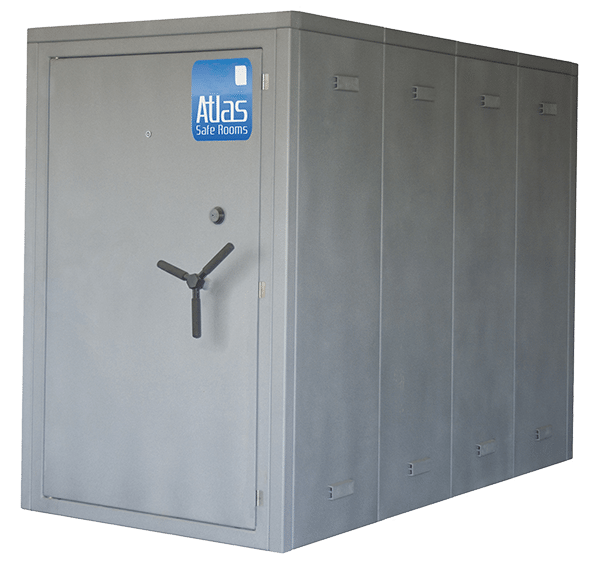 Storm shelters above ground modular atlas safe rooms - Are modular homes safe ...