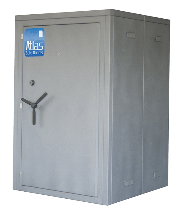 Storm shelters above ground modular atlas safe rooms for Safe room